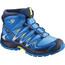 Salomon Junior XA Pro 3D Mid CSWP Shoes Indigo Bunting/Night Sky/Sulphur Spring